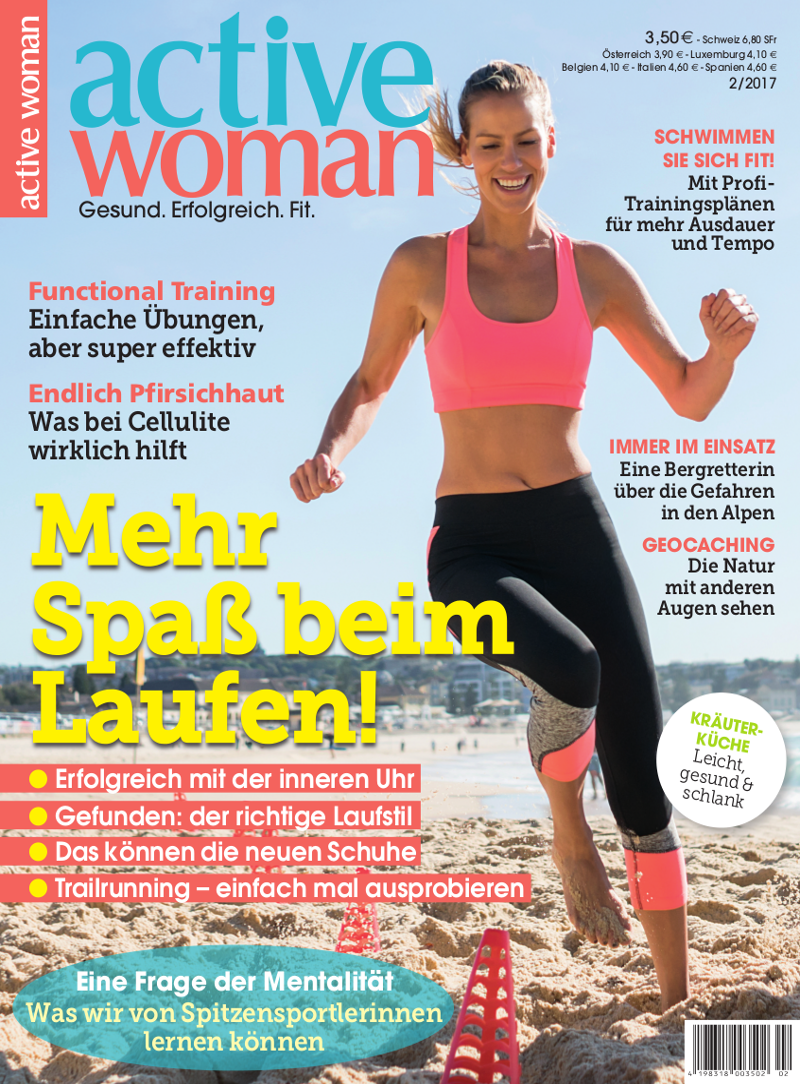Titelbild active woman 2-2017