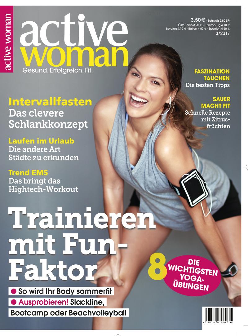 Titelbild der aktuellen Ausgabe active woman