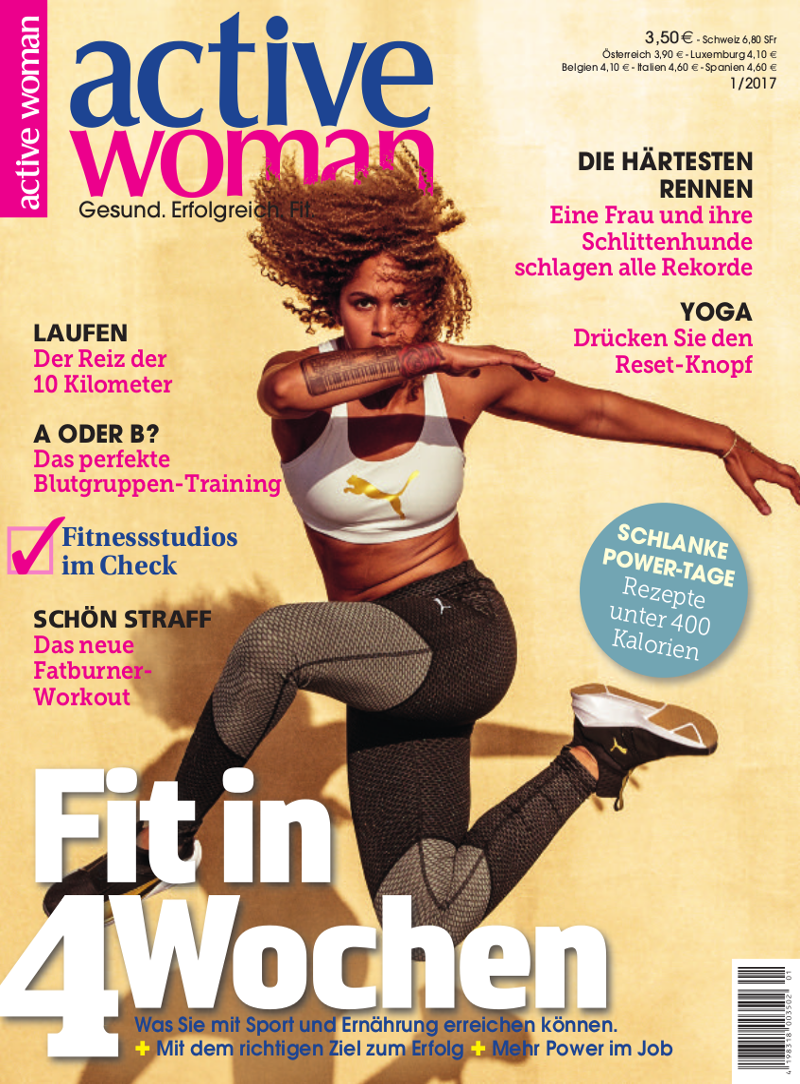Titelbild active woman 1-2017
