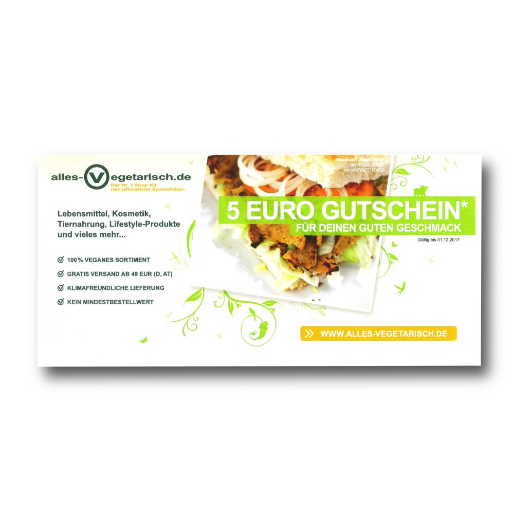 Abo-Prämie 5,-€-Gutschein Vegetarisch Fit