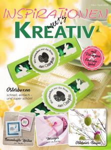 Ausgabe 2/18 des Kundenmagazins Inspirationen meets Kreativ