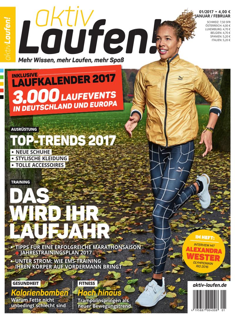 Titelbild aktiv Laufen 1-2017