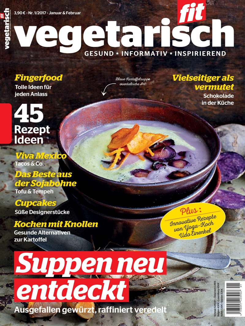 Titelbild Vegetarisch Fit 01-2017