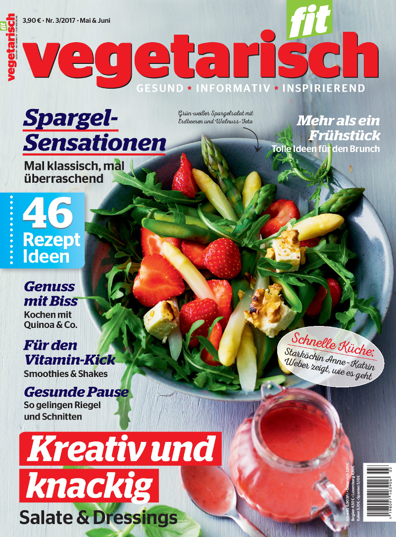 Titelbild Vegetarisch Fit 3-2017