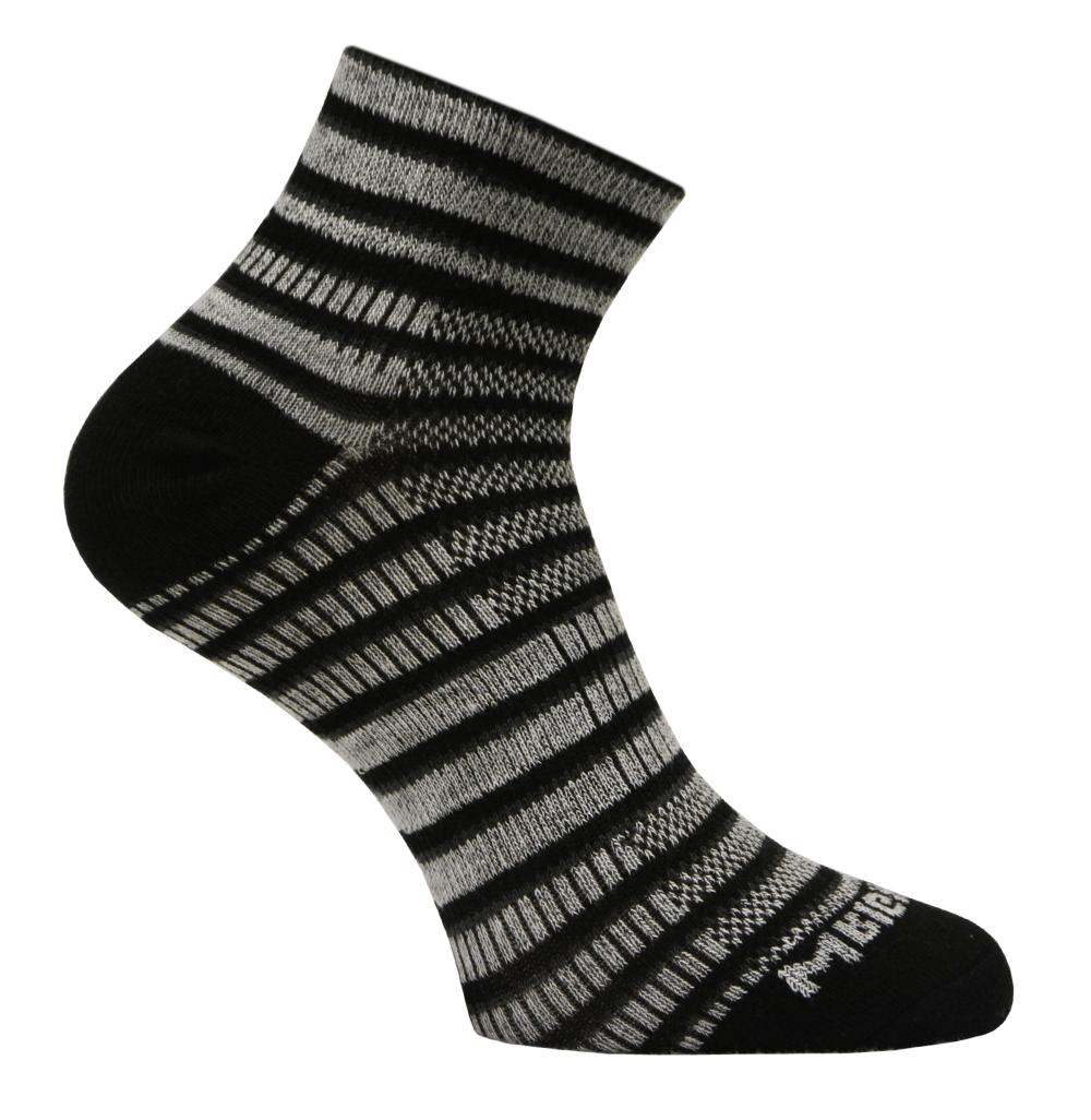 Abo-Prämie Wrightsock black grey aktiv Laufen